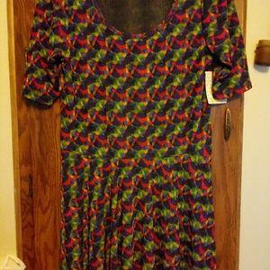 NWT Lularoe sz 3xl Nicole Dress